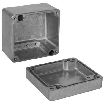 AP Aluminiumkabelkasten EFABOX leer, 80 x 75 mm
