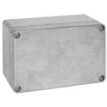 AP Aluminiumkabelkasten EFABOX leer, 125 x 80 mm