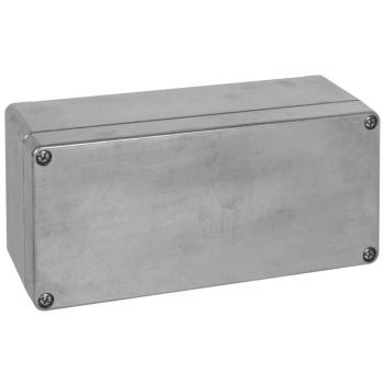 AP Aluminiumkabelkasten EFABOX leer, 220 x 120 mm