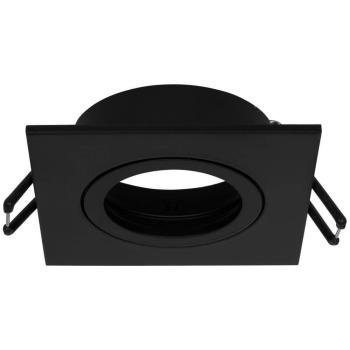 Einbauleuchte DALLA eckig schwarz, schwenkbar, GU5,3/12V...
