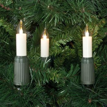 Weihnachtsbaumkette QUICKFIX CANDLE 15 x E14/8-34V/7W