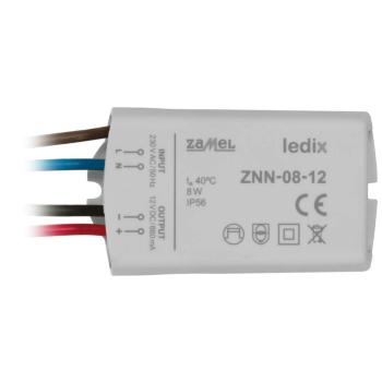LED-Netzteil ZNN-08-12, 12V-DC/8W