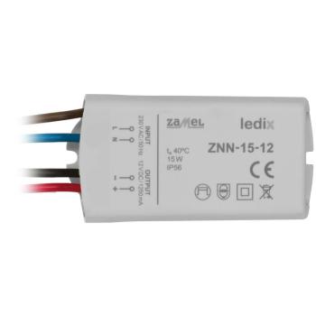 LED-Netzteil ZNN-15-12, 12V-DC/15W