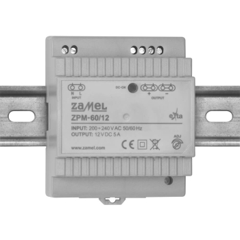 Reiheneinbau-Netzteil ZPM-60/12, DC 12V/60W(5A)