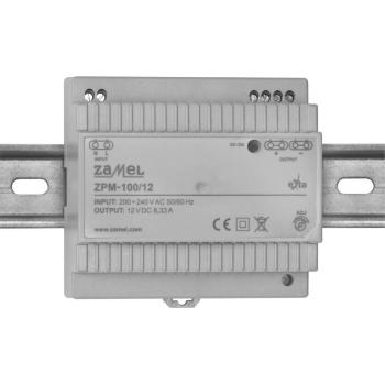 Reiheneinbau-Netzteil ZPM-100/12, DC 12V/100W(8,33A)