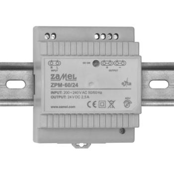 Reiheneinbau-Netzteil ZPM-60/24, DC 24V, 60W(5A)