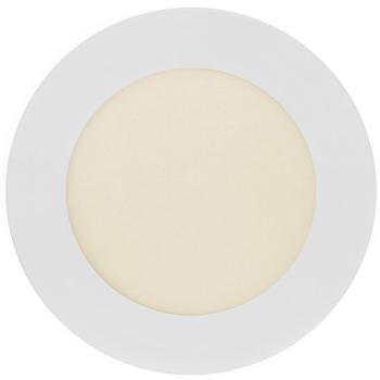 Downlight weiß, rund, 12 cm LED/6W/230V, 360 lm, 3000K
